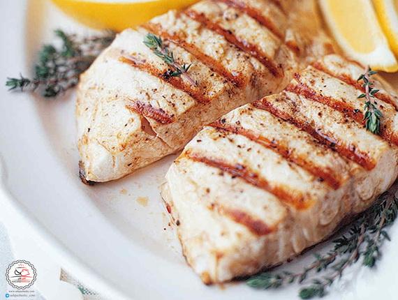 طرز تهیه ماهی گریل شده
