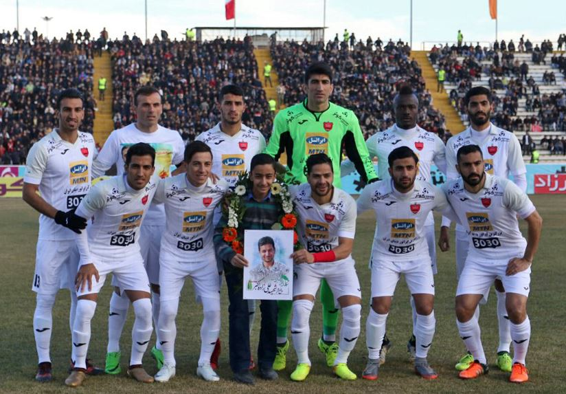 سیاهجامگان 0 _ پرسپولیس 1 پرسپولیس بازهم دقیقه 90 در مشهد پیروز شد!