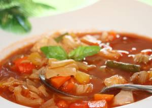طرز تهیه سوپ سبزیجات چربیسوز