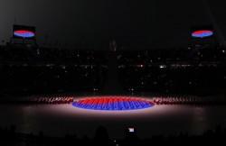 تصاویر زیبا از آغاز المپیک زمستانی