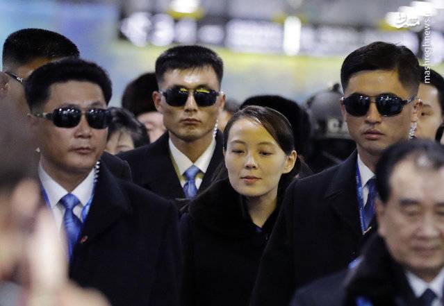 محافظان خواهر کیم جونگ اون +عکس