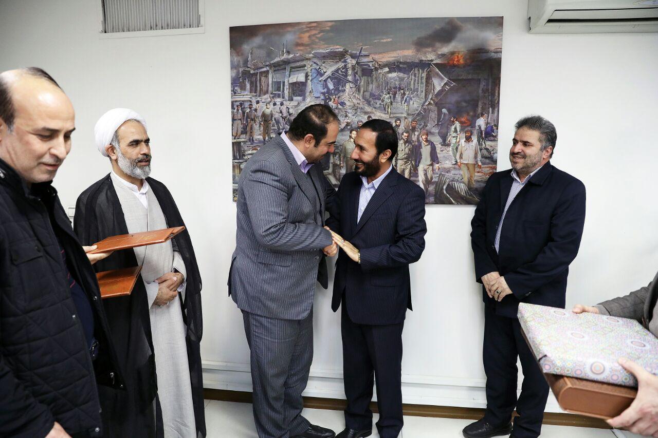 رضا جلالی بعنوان مدیرکل امور ایثارگران شهرداری تهران منصوب شد