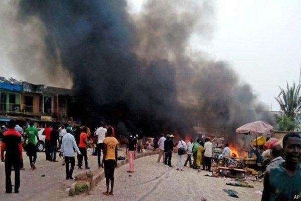 انفجارهای انتحاری در نیجریه 21 کشته برجا گذاشت