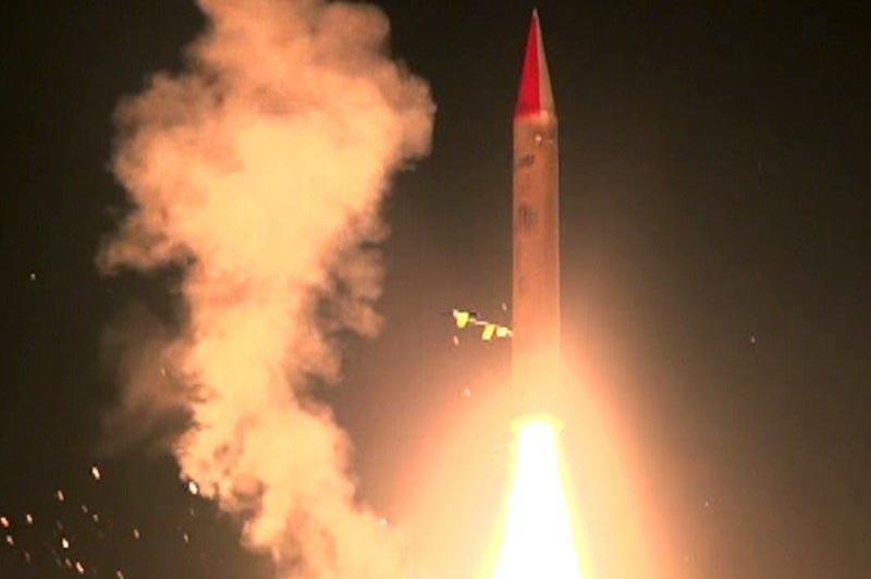 آزمایش سامانه دفاعی اسرائیل برای مقابله با موشک های بالستیک