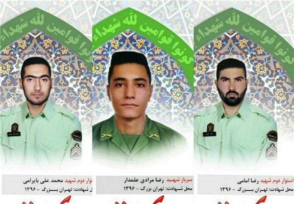 پیکر شهدای پلیس فردا در پاسداران تشییع میشود