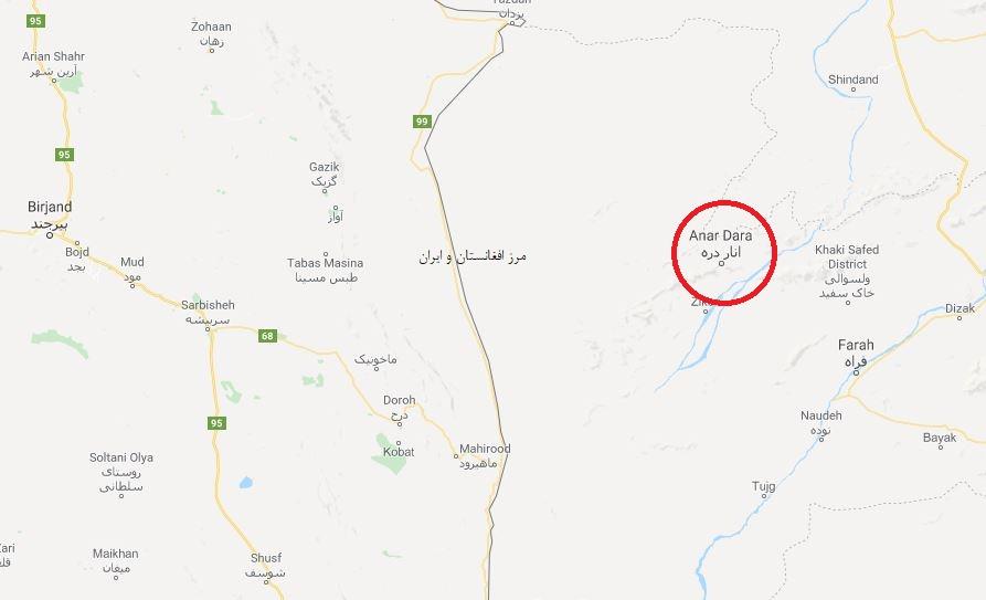 نیروهای طالبان شهری را در نزدیکی مرز ایران تصرف کردند