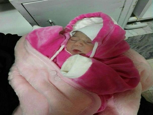 پیدا شدن نوزادی در سطل زباله در میاندوآب