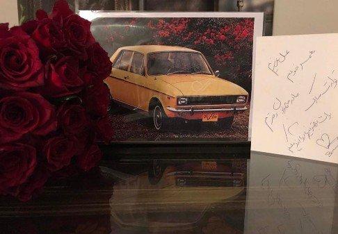 هدیه لاکچری سام درخشانی برای تولد همسرش!