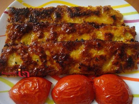 کباب تابه ای مرغ، یک غذای دلچسب و خوشمزه