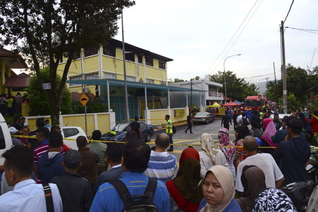 دانش آموزان زنده زنده در آتش سوختند!