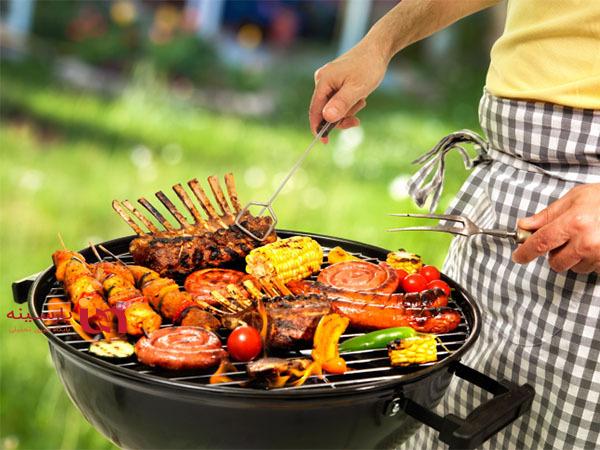 ده ترفند برای سالم کباب کردن مواد غذایی