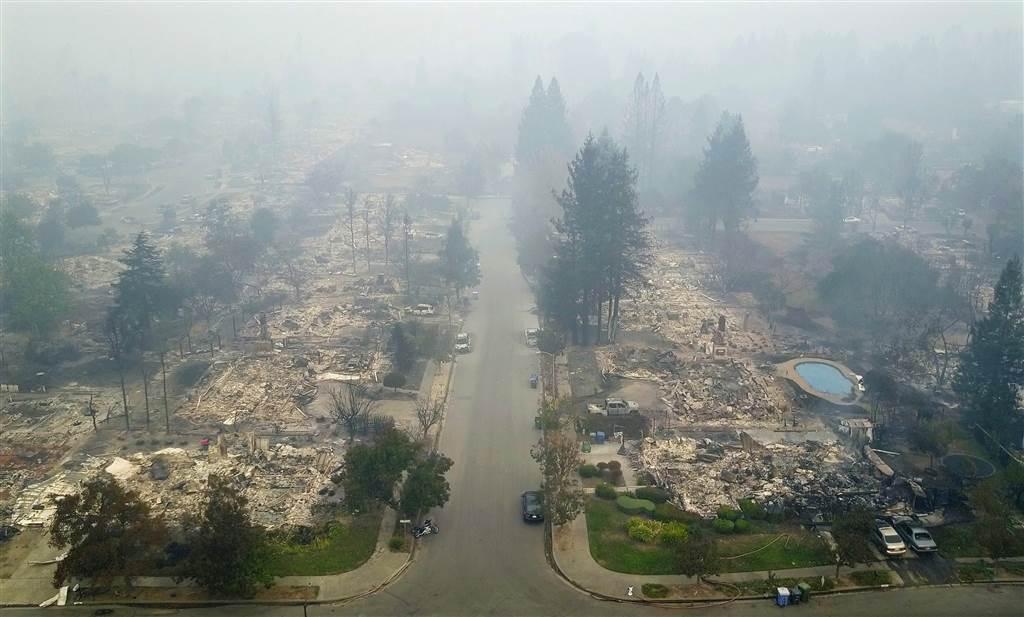 افزایش کشته شدگان آتشسوزی کالیفرنیا+عکس