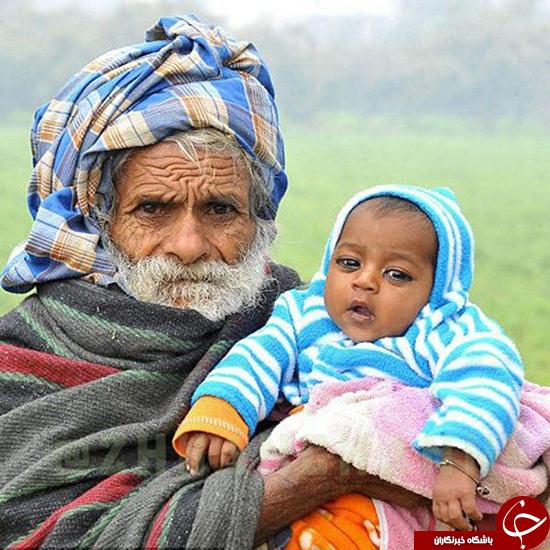 پیرترین پدر جهان را بشناسید
