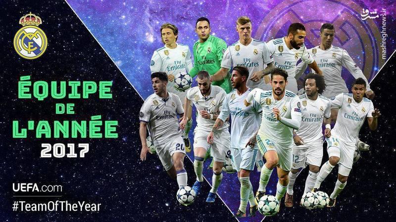 برترین تیم سال ۲۰۱۷ انتخاب شد