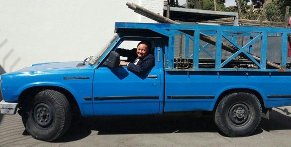 علاقه سفیر آلمان به نیسان آبی +عکس