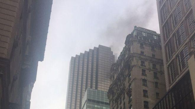 آتشسوزی در برج ترامپ