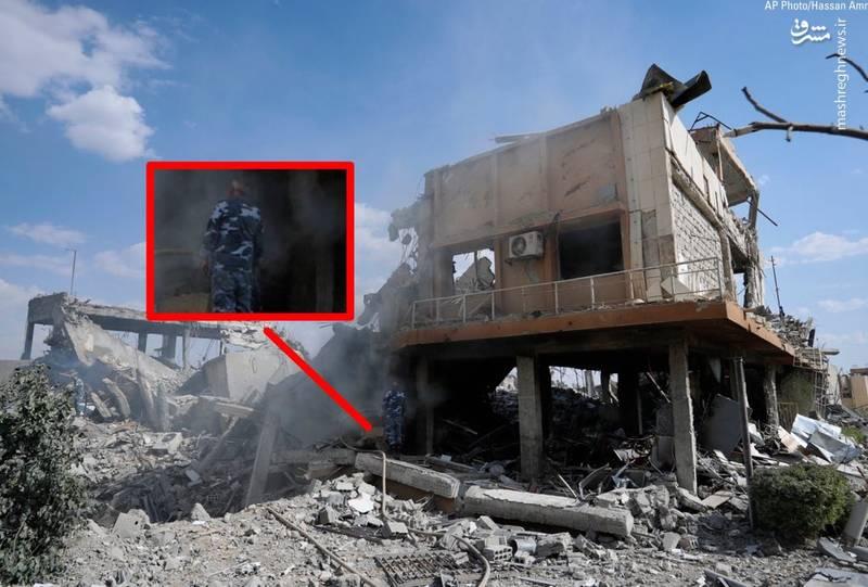 گاف بزرگ آمریکا در حمله به سوریه +عکس