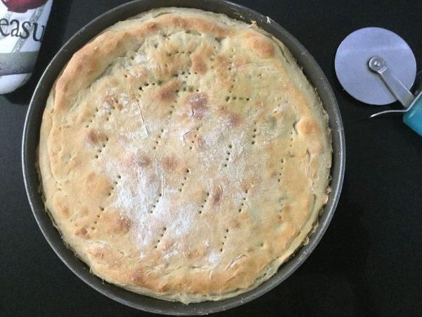 طرز تهیه پیتزا اسفناج