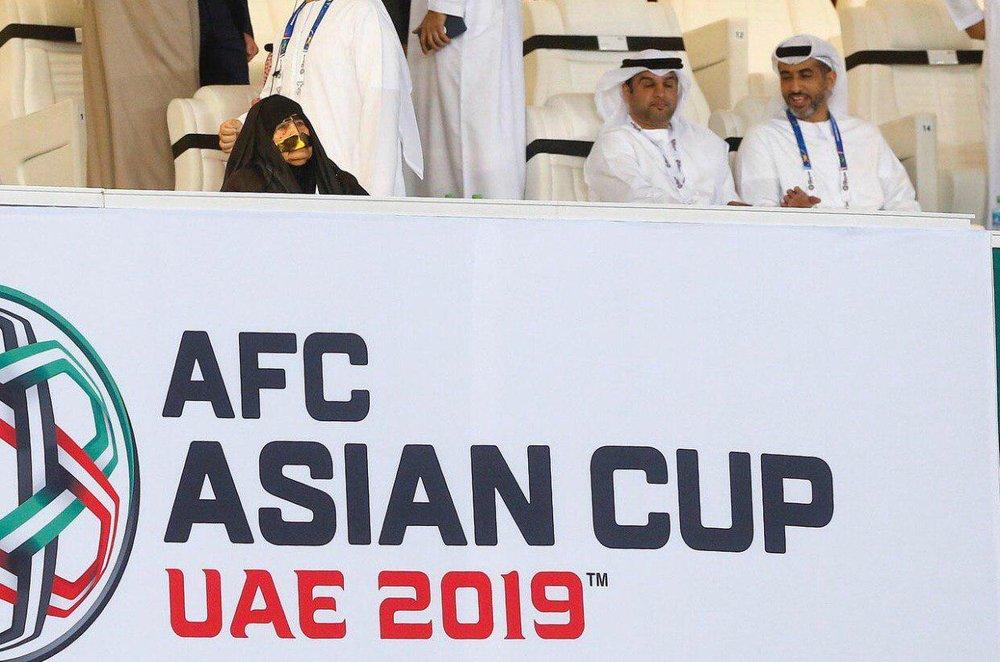 تصویری از خاصترین هوادار بازی امارات