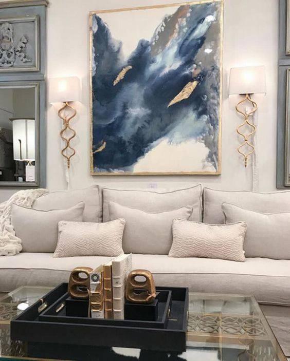 تابلوهای نقاشی متناسب با دکور منزل