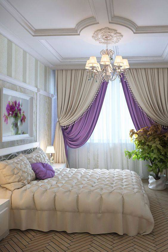 مدلهای شیک پرده اتاق خواب