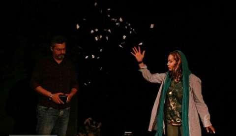 گزارش پارسینه از تئاتر فکر کنم فرشته است