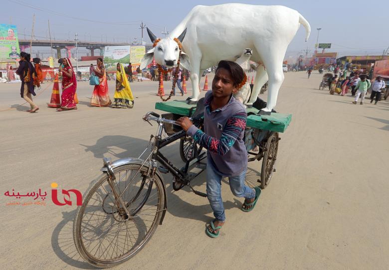 یک روز عادی در هندوستان!