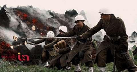 پخت نان با گدازه آتشفشان در جریان جنگ جهانی!