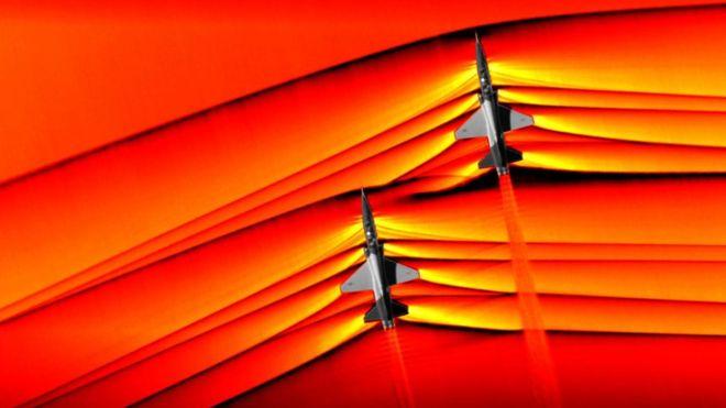 عکس ناسا از از امواج مافوق صوت
