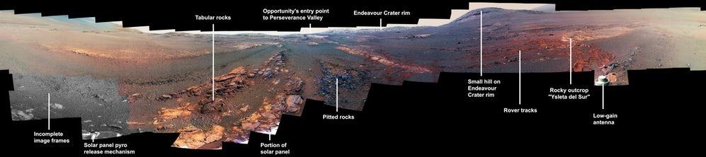 آخرین تصویر ارسالی مریخنورد ناسا پیش از طوفان مریخی