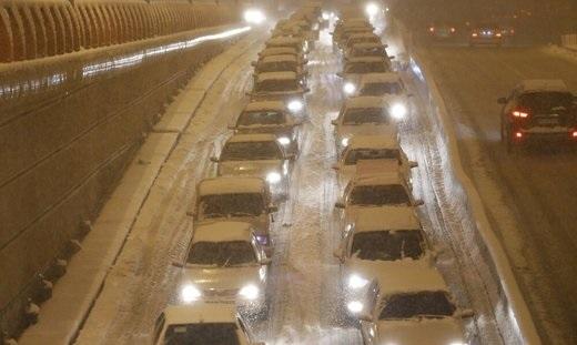 احتمال برفی شدن جاده چالوس از امشب