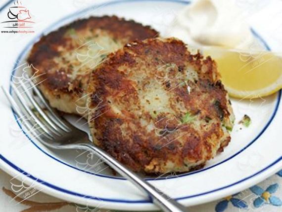 کتلت ماهی، شامی آسان و سریع