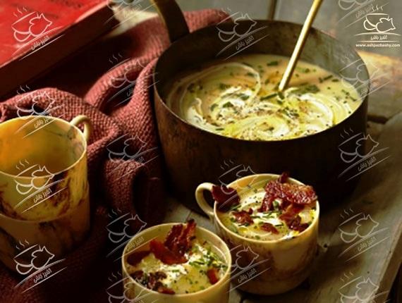 سوپ سیب زمینی با طعمی متفاوت