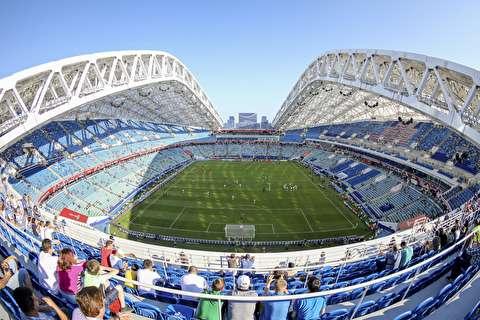 آماده سازی استادیوم سوچی برای جام جهانی+فیلم