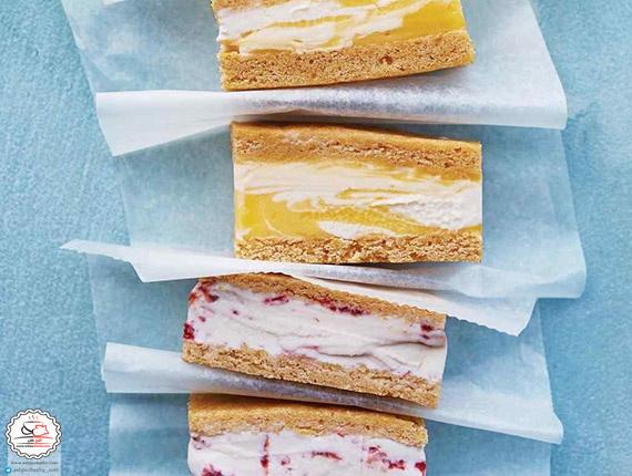 طرز تهیه کیک بستنی ادویهدار