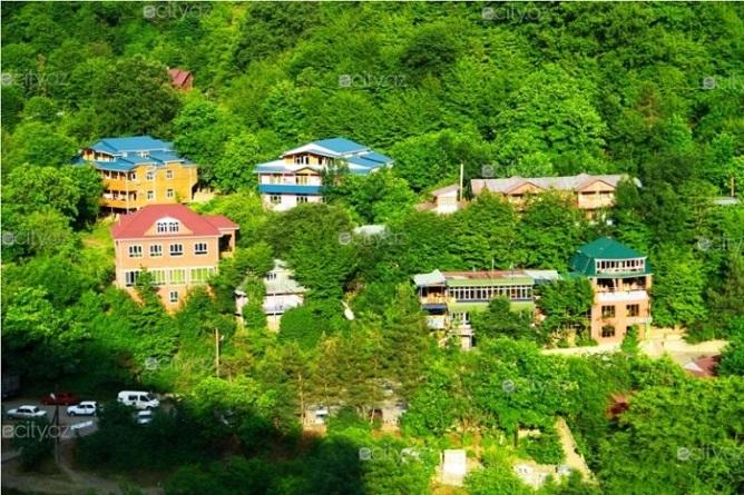 شهر زیبای ماساللی در کشور آذربایجان