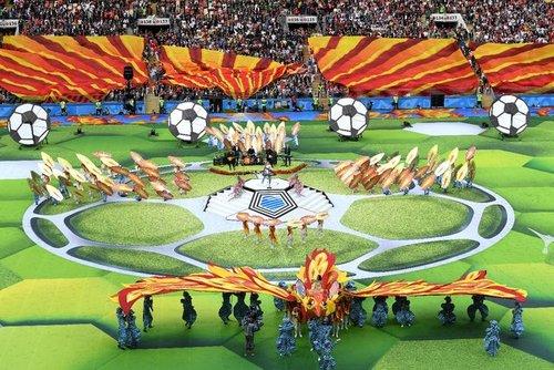 جام جهانی ۲۰۱۸ روسیه آغاز شد +عکس