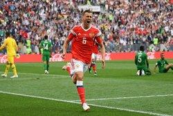 دیدار افتتاحیه جام جهانی؛ روسیه پنج - عربستان صفر پایان عربستان در «بازی رولت روسی»!