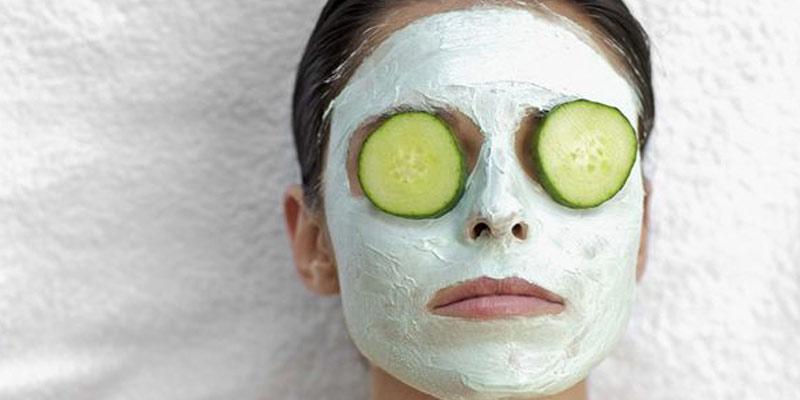 پیشگیری از سرطان پوست با ماسک ماست و خیار