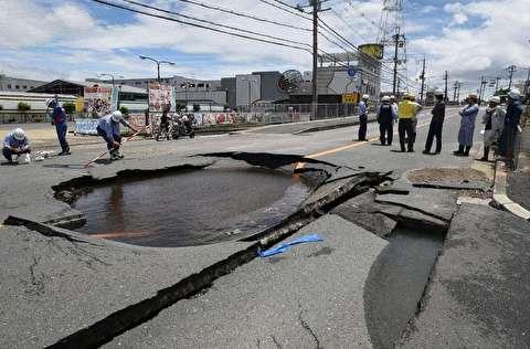 زلزله ۶.۱ ریشتری در استان اوساکای ژاپن
