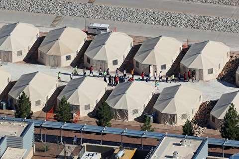 کمپ کودکان مهاجر در تگزاس