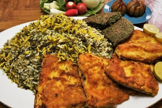 سبزی پلو با ماهی از دیدگاه طب سنتی