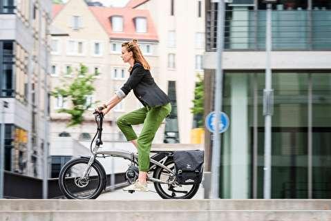 دوچرخه تاشوی برقی با قلب آلمانی