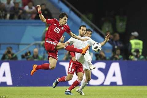 پیروزی تیم ملی اسپانیا مقابل ایران