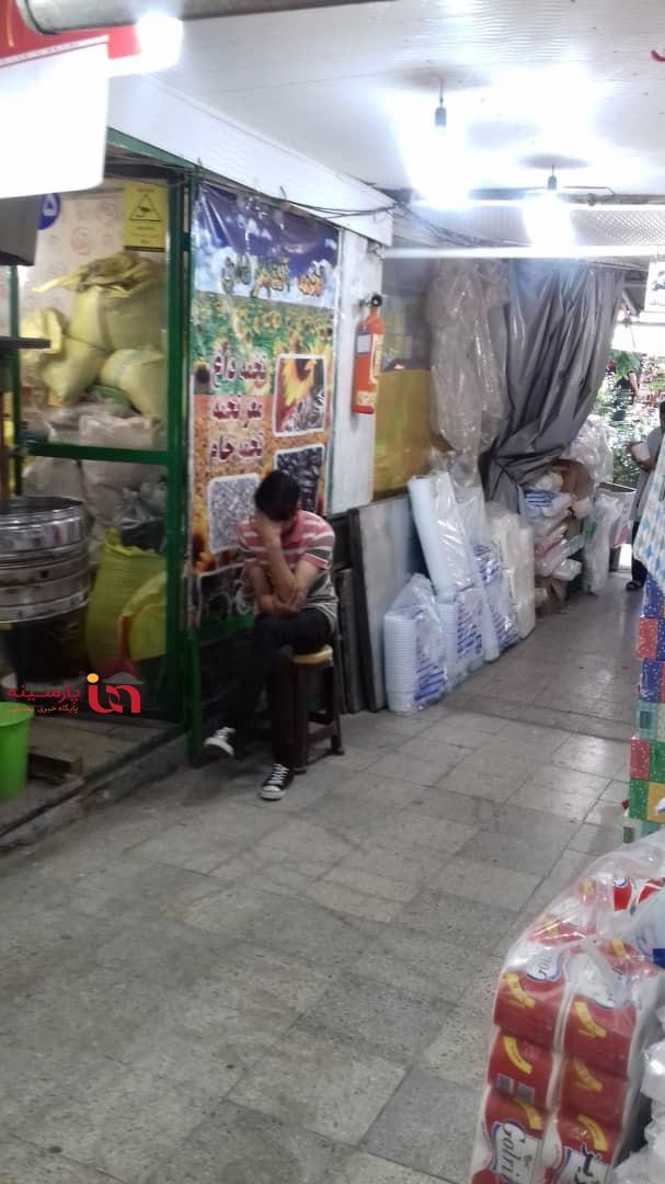 چوب مزایده ارتش بر تن رنجور غرفه دارانی که محتاج نان شب هستند!+سند