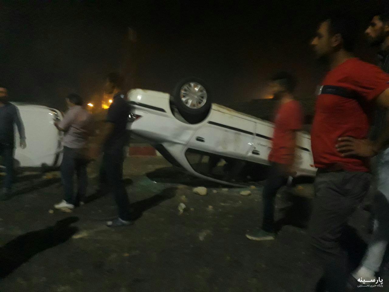 در برخورد تانکر سوخت با اتوبوس در سنندج دستکم ۱۵ نفر کشته شدند