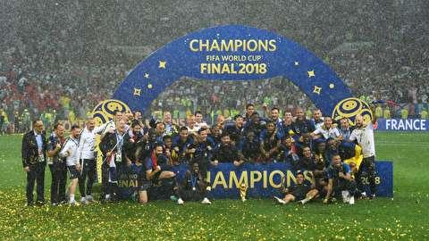 دومین افتخار آفرینی فرانسه در جام جهانی فوتبال