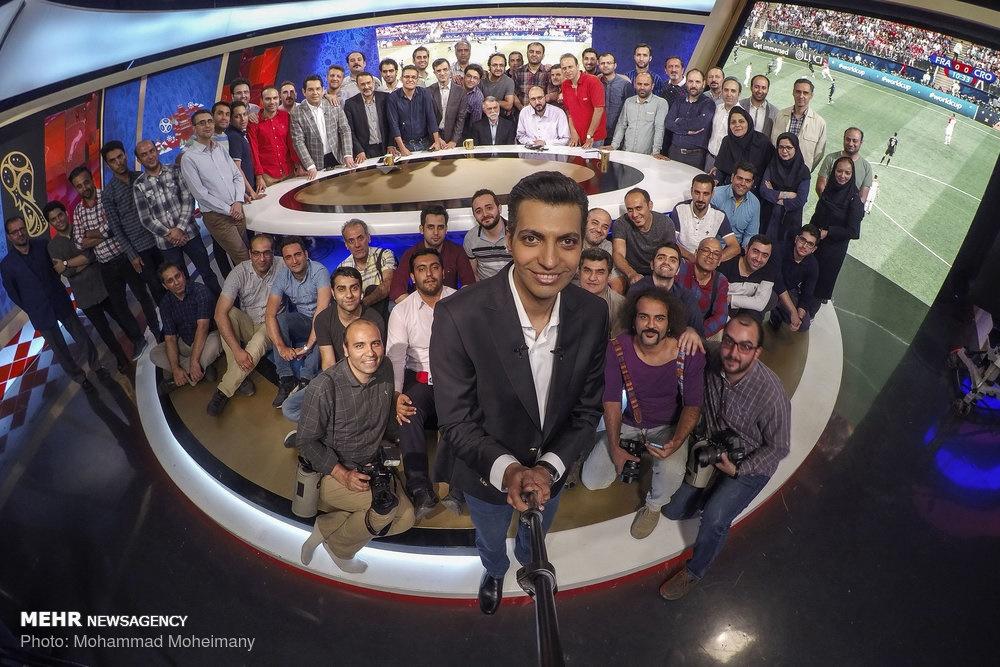 سلفی فردوسیپور پس از فینال جام جهانی +عکس