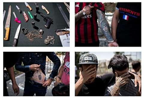 دستگیری اراذل و اوباش و مزاحمین نوامیس