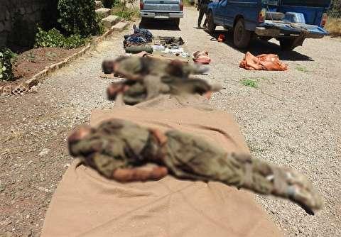 تروریستهای هلاک شده به دست نیروی زمینی سپاه
